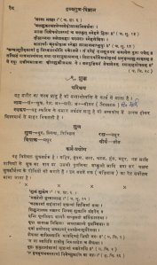 Scanned page of the above mentioned Ayurvedic Materia Medica containing the details of the qualities and charecteristics of SEMEN of various origins