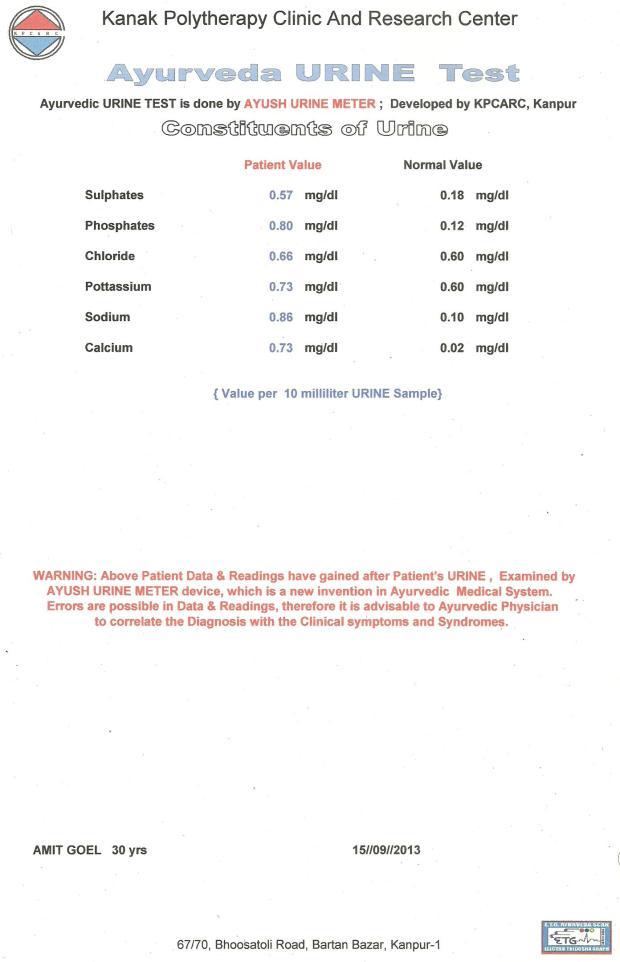 URINE REPORT 02